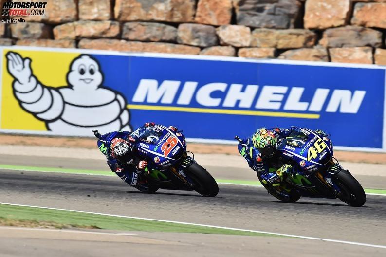 MotoGP Aragon - Valentino Rossi stolz auf Platz fünf - Lob von Marquez und Co.