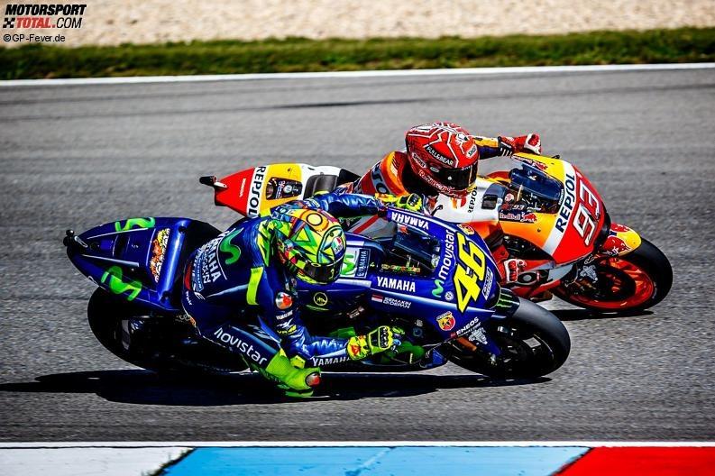 Valentino Rossi, Marc Marquez - © GP-Fever.de