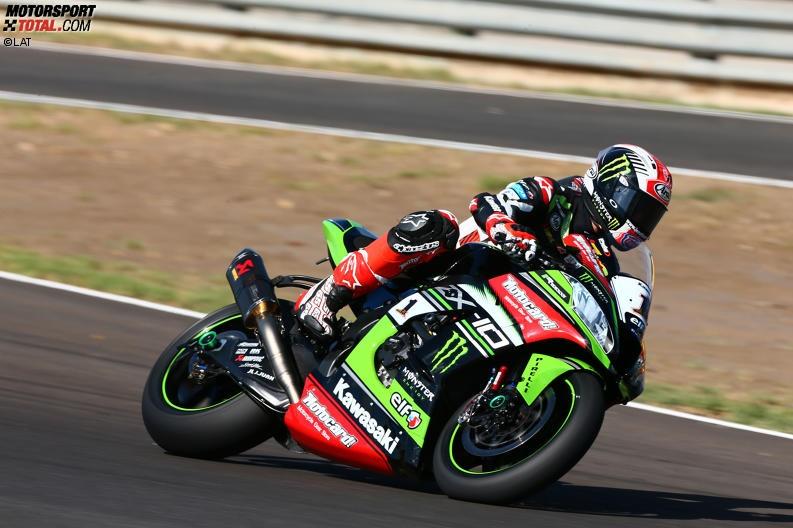 Superbike-Piloten testen in Jerez: Rea bleibt Klasse für sich