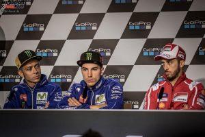 Valentino Rossi, Maverick Vinales, Andrea Dovizioso - © GP-Fever.de