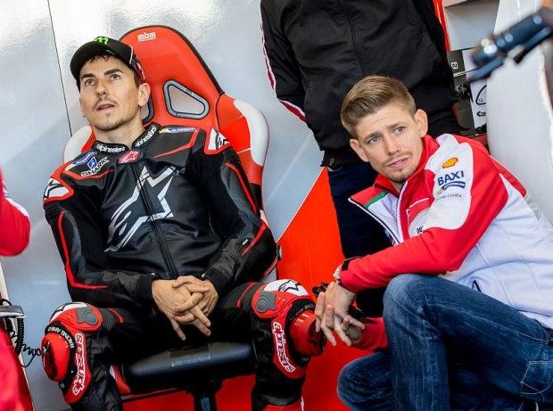 Jorge Lorenzo und Casey Stoner - © GP-Fever.de
