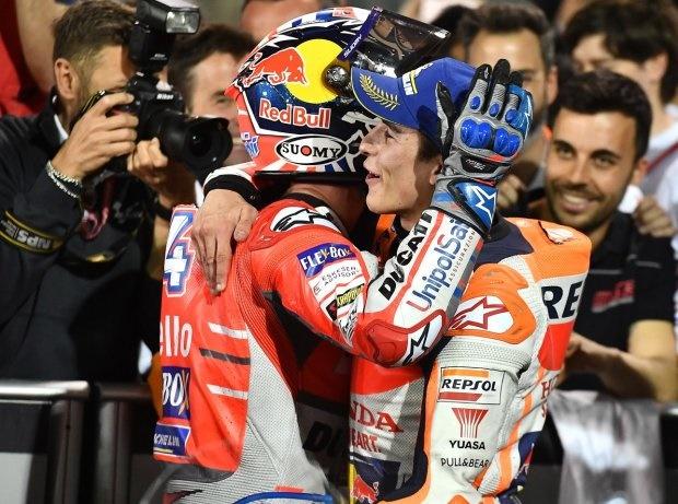 Dovizioso und Marquez - © Michelin