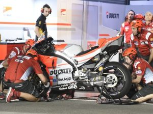 Jorge Lorenzos Ducati - © LAT