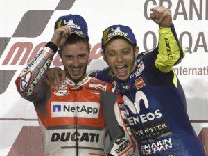 Dovizioso und Rossi - © LAT