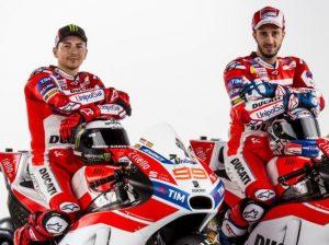 Lorenzo und Dovizioso - © Ducati