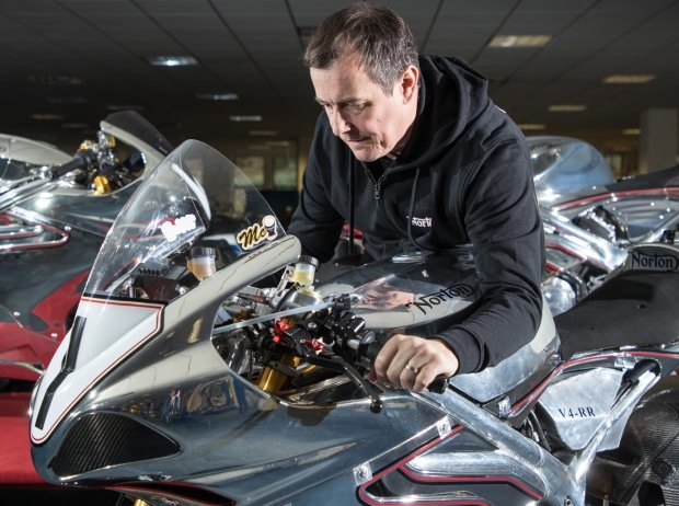John McGuinness - © Norton