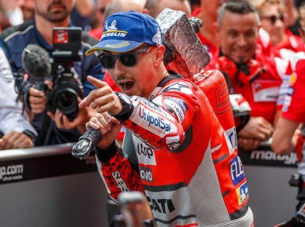 MotoGP Barcelona: Was Lorenzo seinen Kritikern ausrichtet
