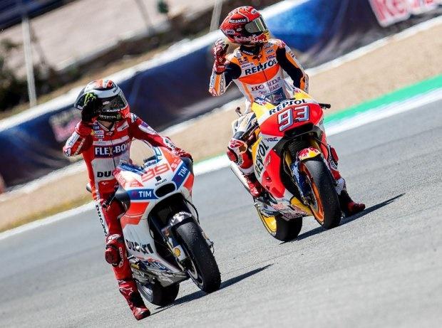 Jorge Lorenzo & Marc Marquez - © GP-Fever.de