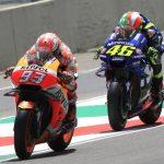 Marquez vs Rossi - © LAT