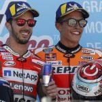Andrea Dovizioso und Marc Marquez - @Repsol