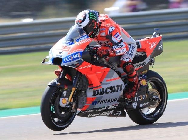 MotoGP Aragon Quali: Jorge Lorenzo erobert Pole vor Dovizioso und Marquez