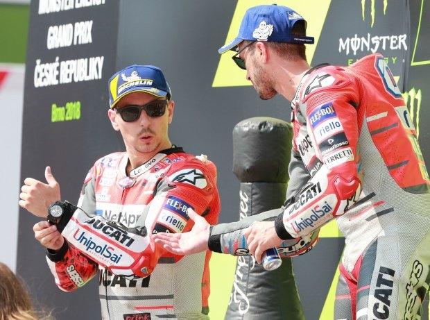 Dovizioso und Petrucci: Lorenzo kritisiert Ducati-Fahrerwahl für 2019