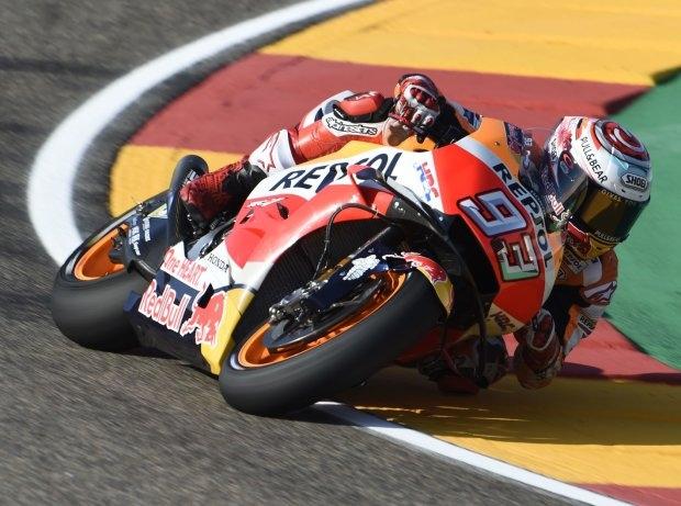 MotoGP Aragon FP2: Marquez vor Lorenzo und Dovizioso Schnellster