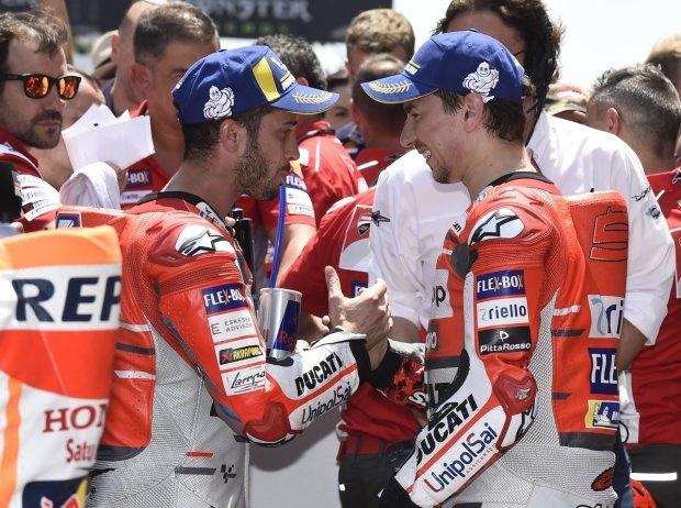 Andrea Dovizioso: Jorge Lorenzos Siege haben für