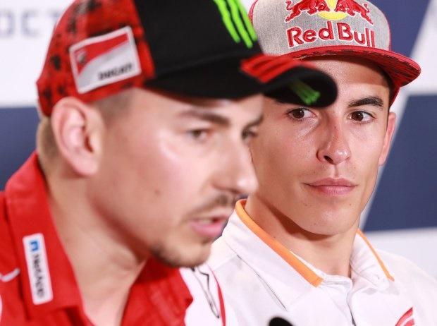 Lorenzo vs Marquez - ©LAT