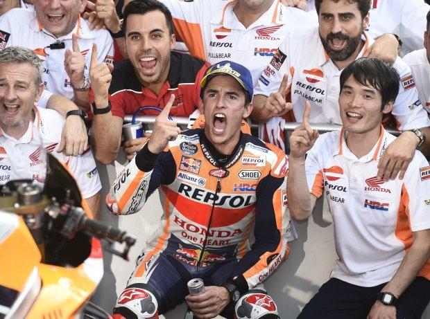 MotoGP Motegi 2018: Marc Marquez gewinnt und ist MotoGP-Weltmeister 2018