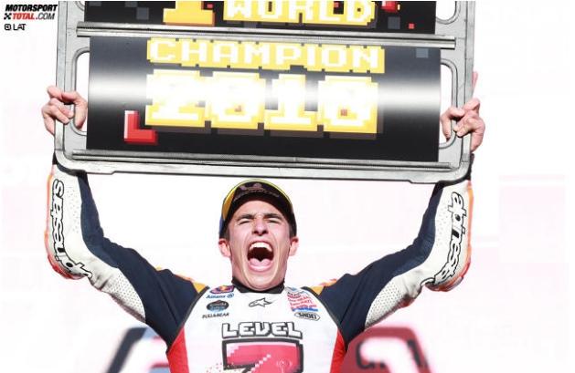 Doohan & Rossi gratulieren Marquez:
