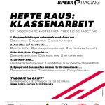 Speer Racing, Klassenarbeit