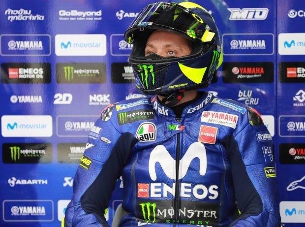 MotoGP Motegi 2018, Valentino Rossi: Falscher Reifendruck kostete Startreihe zwei