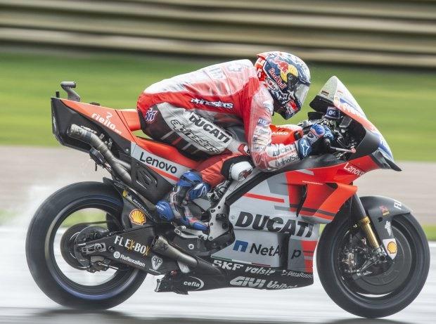 MotoGP Valencia 2018: Dovizioso gewinnt Abbruchrennen, KTM auf dem Podium