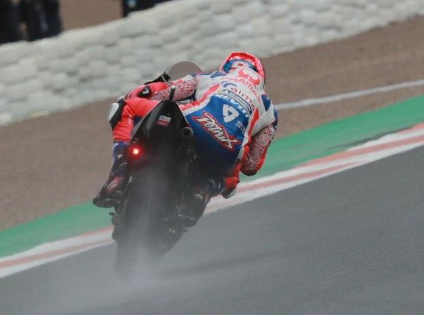 MotoGP Valencia 2018, FP2: Danilo Petrucci vor Marquez und Rossi