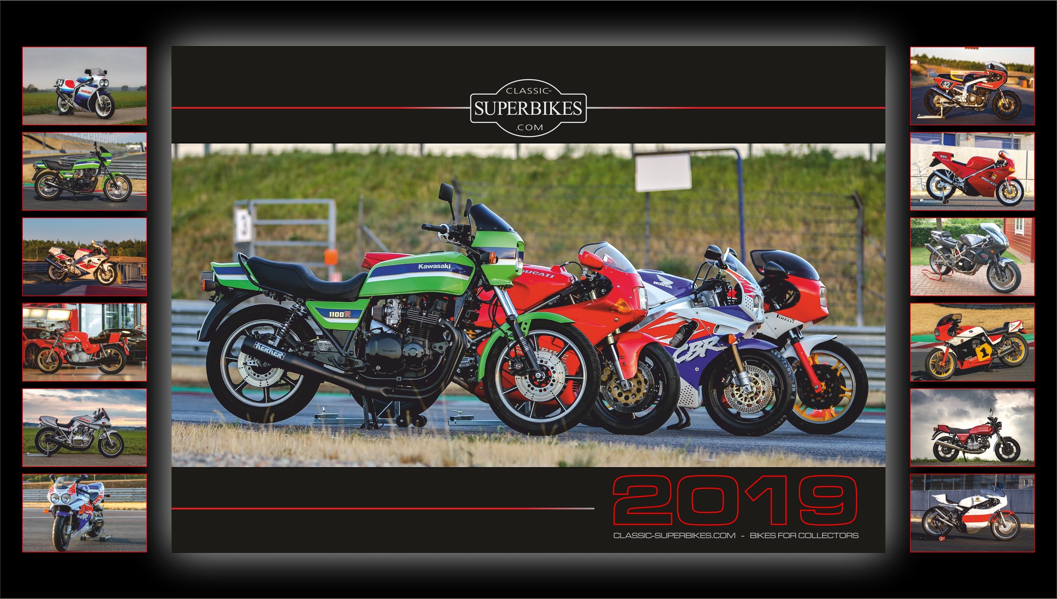 Classic-Superbikes.com Kalender 2019