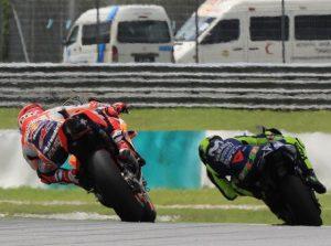 Valentino Rossi vs Marc Marquez - © Yamaha