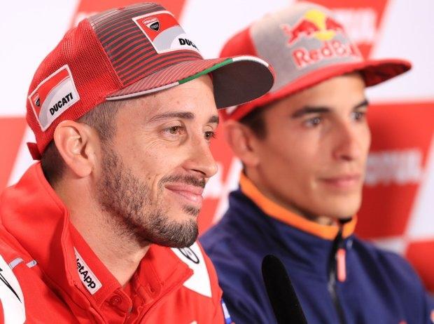 Dovizioso der lachende Dritte, wenn sich Marquez und Lorenzo streiten?