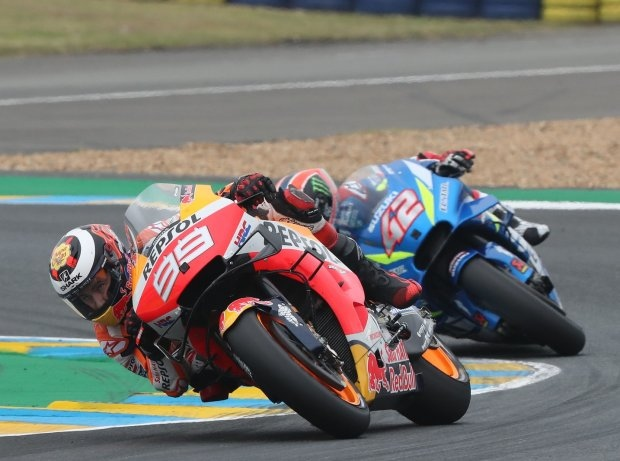 Jorge Lorenzo in Le Mans Elfter: