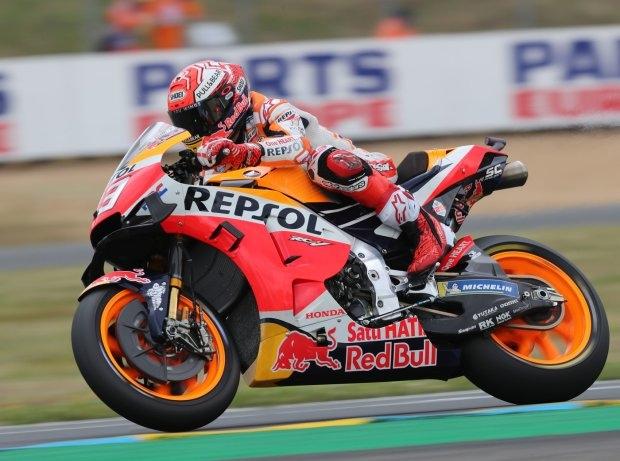 Le Mans 2019 MotoGP Quali: Marquez trotz Sturz auf Pole vor Petrucci und Miller