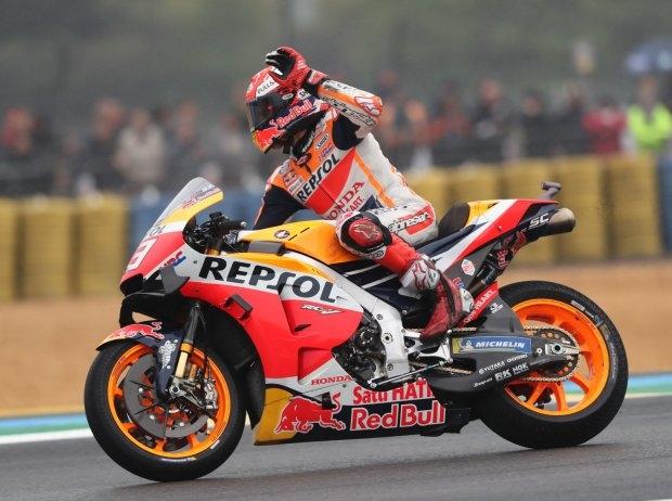 Le Mans 2019 MotoGP: Marc Marquez holt den 300. Sieg für Honda