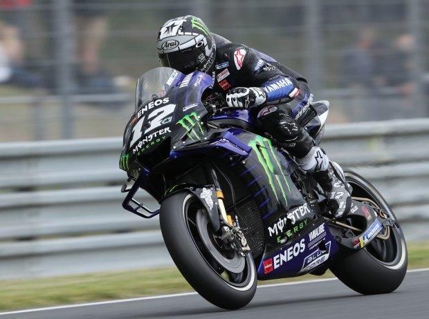 Le Mans 2019 MotoGP FP3: Vinales mit Regen-Bestzeit, Rossi und Rins in Q1