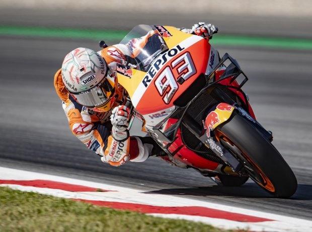 Barcelona 2019 MotoGP: Marc Marquez siegt bei prominentem Vierfach-Sturz
