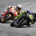 Rossi vs Marquez - © LAT