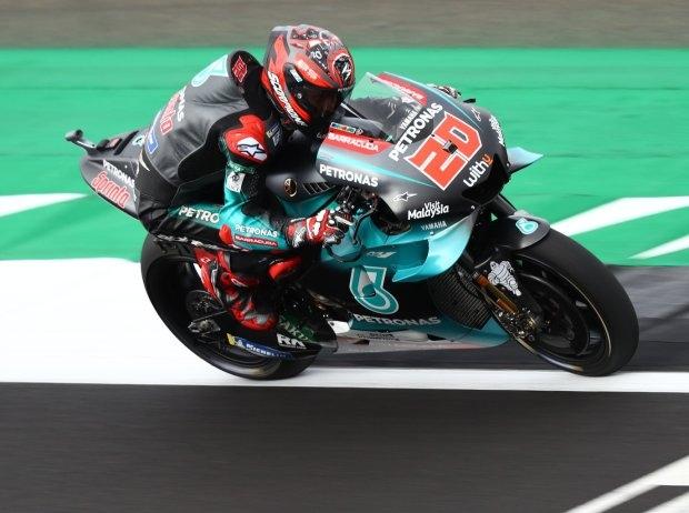 MotoGP Silverstone FP3: Quartararo knapp vor Rossi Schnellster, Marquez auf P3
