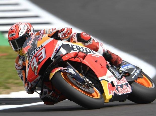 MotoGP Silverstone FP2: Rekordrunde von Marquez, Rossi und Quartararo ärgern sich