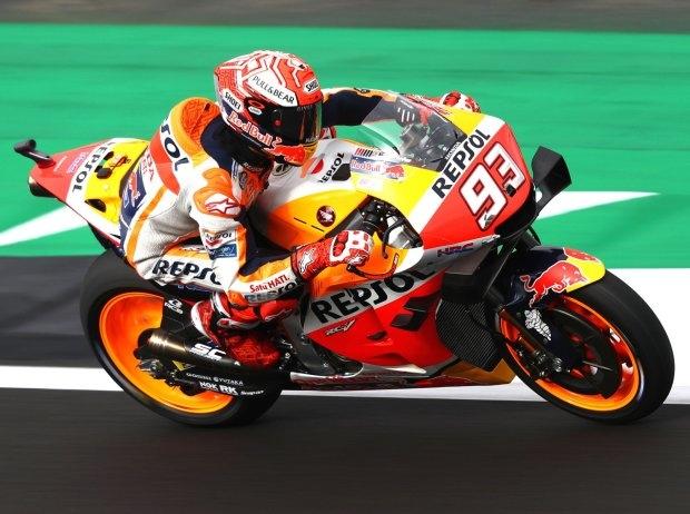 MotoGP Silverstone Quali: Pole für Marc Marquez vor Valentino Rossi und Jack Miller