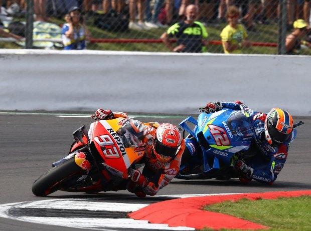 MotoGP Silverstone: Rins vs. Marquez: Taktik, Irrtum, Reaktionen