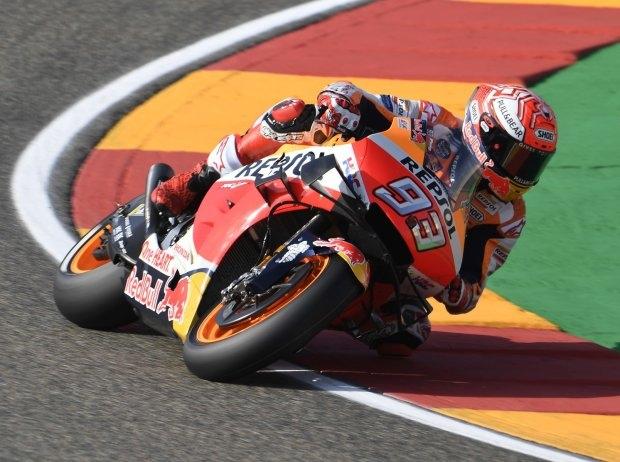 MotoGP Aragon Quali: Neunte Saisonpole für Marquez, Pol Espargaro verletzt
