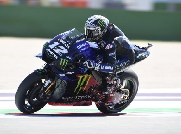 MotoGP Aragon FP2: Vinales, Rossi und Quartararo vorn