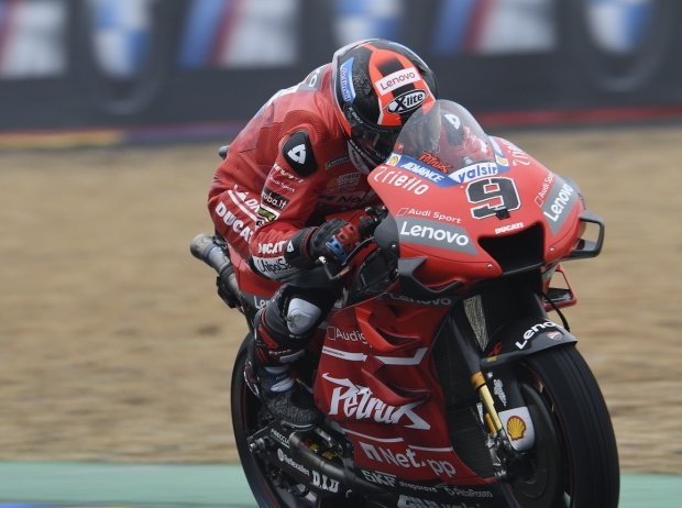 MotoGP Motegi FP3: Petrucci mit Regenbestzeit vor Marquez