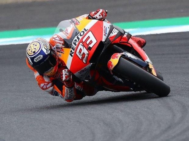 MotoGP Motegi Quali: Marquez sichert sich zehnte Pole-Position der Saison
