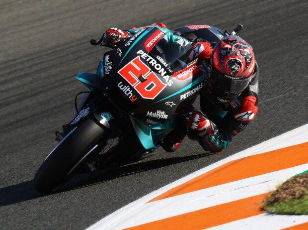 MotoGP Valencia FP2: Quartararo vorn, Rossi stürzt erneut