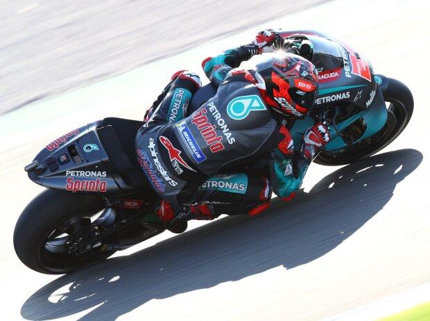 MotoGP Valencia Quali: Fabio Quartararo auf Pole, Valentino Rossi im Q2 Letzter