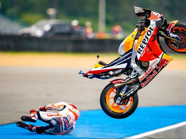 Viele Saves, weniger Stürze: Wie MotoGP-Champion Marquez seine Sturzquote reduzierte