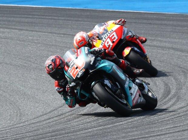 Marquez vs Quartararo - © LAT