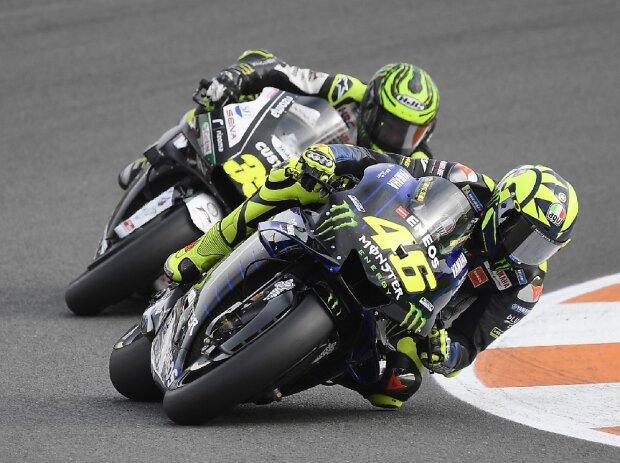Rossi in Valencia Achter: