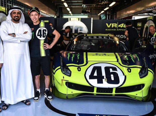 Nach der MotoGP: Valentino Rossi plant zehn Rennjahre im Auto
