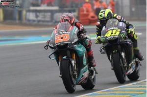 Quartararo Rossi - © Motorsport Images