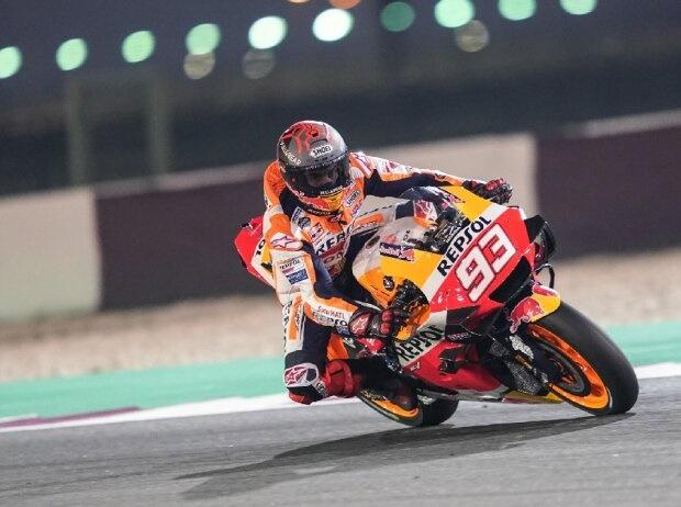 Marc Marquez hat in Katar mit Schulter